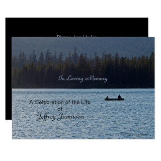 Carte Célébration d'invitation de la vie, pêcheurs