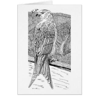 Carte Cerf-volant rouge