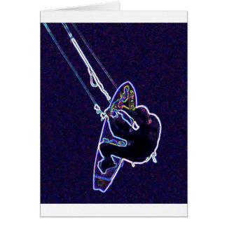Carte Cerf-volant surfer2