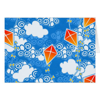 Carte Cerfs-volants