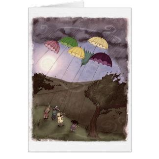 Carte Cerfs-volants de pluie