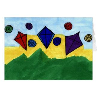 Carte Cerfs-volants par Linda Kinchley