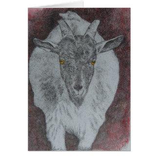 Carte César la chèvre