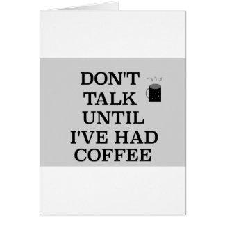 Carte C'est pour l'amant de café