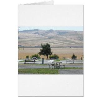 Carte Cette colline de Pendleton du terrain de camping