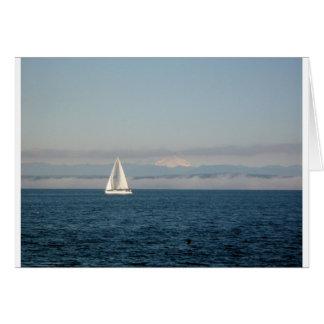 Carte Chaîne de voilier et de montagne de Puget Sound