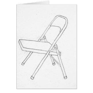 Carte chaise