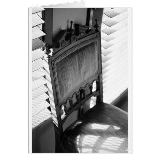 Carte Chaise antique
