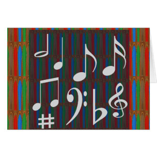 Carte Chansons de chanteurs de Mastreo de musicien de