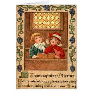 Carte Chant d'enfants