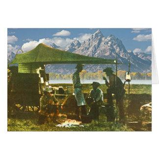 Carte Chariot de mandrin dans les montagnes