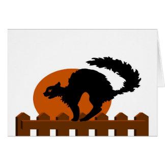 Carte Chat noir