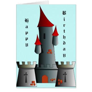 Carte Château de conte de fées