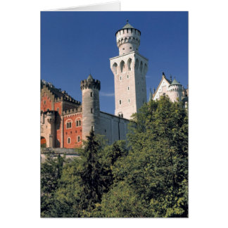 Carte Château de l'Allemagne, Bavière, Neuschwanstein