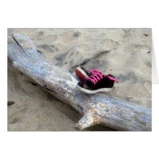 Carte Chaussures sur la plage