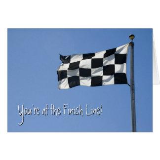 Carte Checkered de drapeau