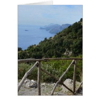 Carte Chemin des dieux Amalfi
