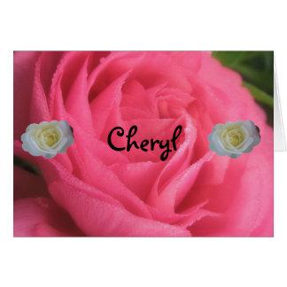 Carte Cheryl