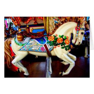 Carte Cheval de carrousel - 1