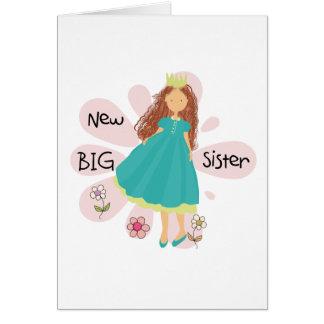 Carte Cheveux de Brown de princesse grande soeur