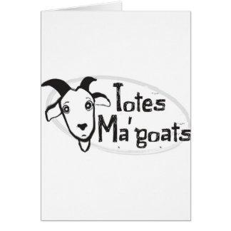 Carte Chèvres de Ma de l'emballage