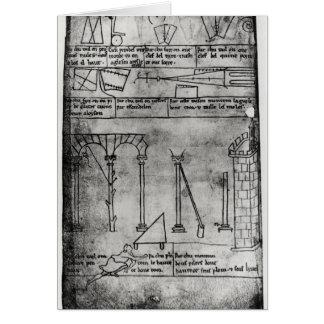 Carte Chiffres géométriques pour la construction