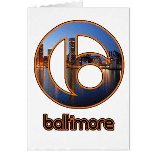 Carte Choses de Baltimore