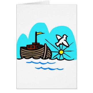 Carte Chrétien artwork_1 de l'arche de Noé