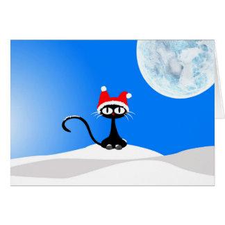 Carte Christmas Cat