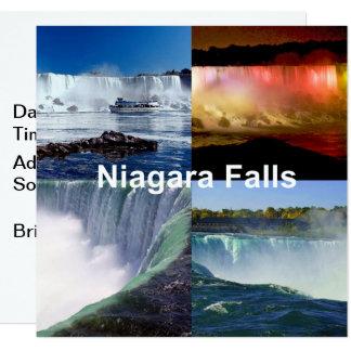 Carte Chutes du Niagara New York