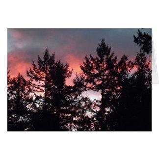 Carte Ciel de matin