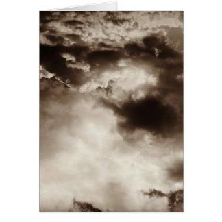 Carte Cieux orageux