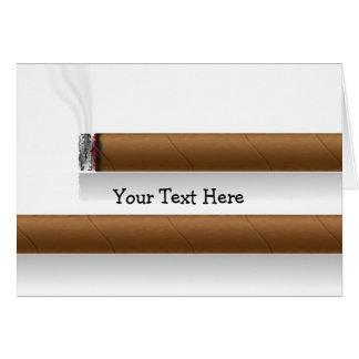 Carte Cigares (personnalisés)