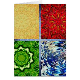 Carte Cinq éléments