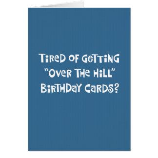 Carte Cinquante-neuvième salutation drôle d'anniversaire
