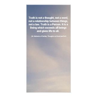 Carte Citation de vérité
