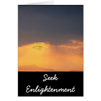 Carte Citation inspirée de Bouddha