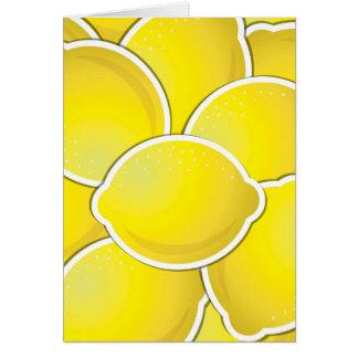 Carte Citron génial