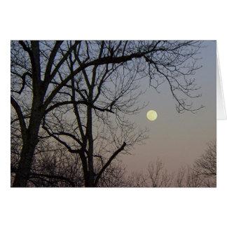 Carte Clair de lune