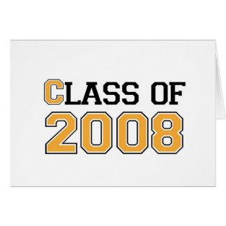 Carte Classe de 2008