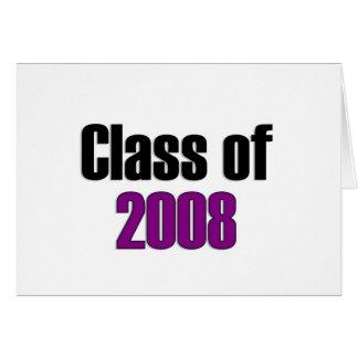 Carte Classe du pourpre 2008