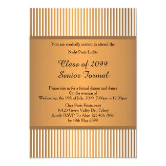 Carte Classe formelle supérieure 2099, bronze de bal