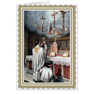Carte Classification Jésus d'anniversaire de prêtrise