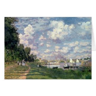 Carte Claude Monet | la marina à Argenteuil, 1872