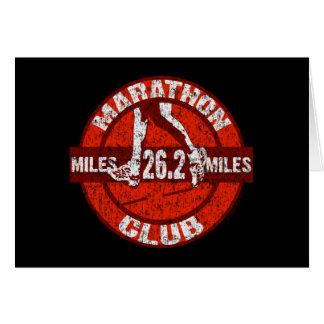 Carte Club de marathon