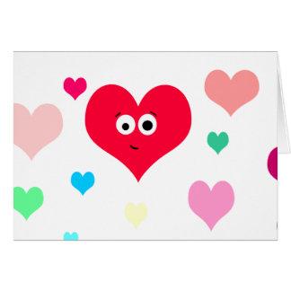 Carte Coeur chaleureux