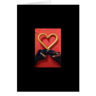 Carte Coeur par le parapluie