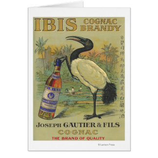 Carte Cognac d'IBIS - Joseph Gautier et promo de Fils
