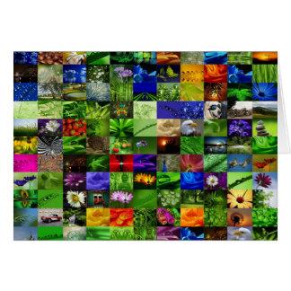 Carte Collage de Grußkarte   Greetingcard