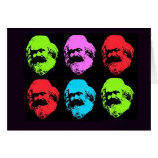 Carte Collage de Karl Marx